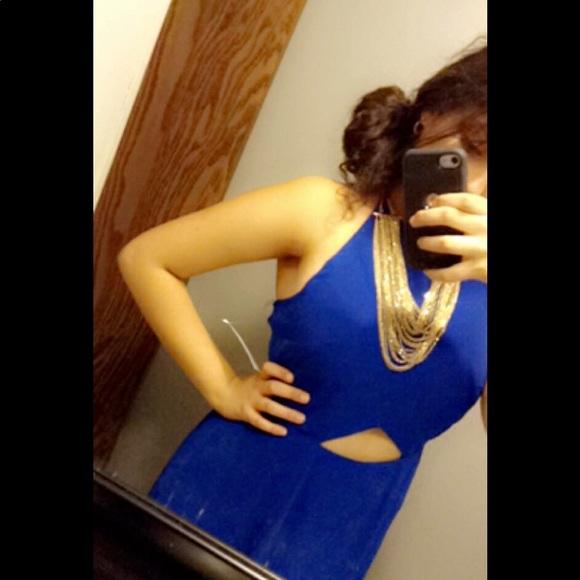 Decree Dresses & Skirts - Royal Blue Maxi Dress